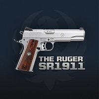 RUGER SR1911 - A 1911 da moda!
